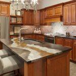 кухонная столешница в полоску