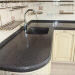 кухонная столешница черная