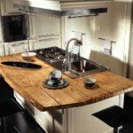 кухонная столешница из досок
