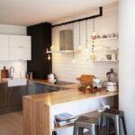 кухонная столешница светлая деревянная
