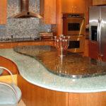 кухонная столешница двойная