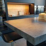 столешница из бетона декор