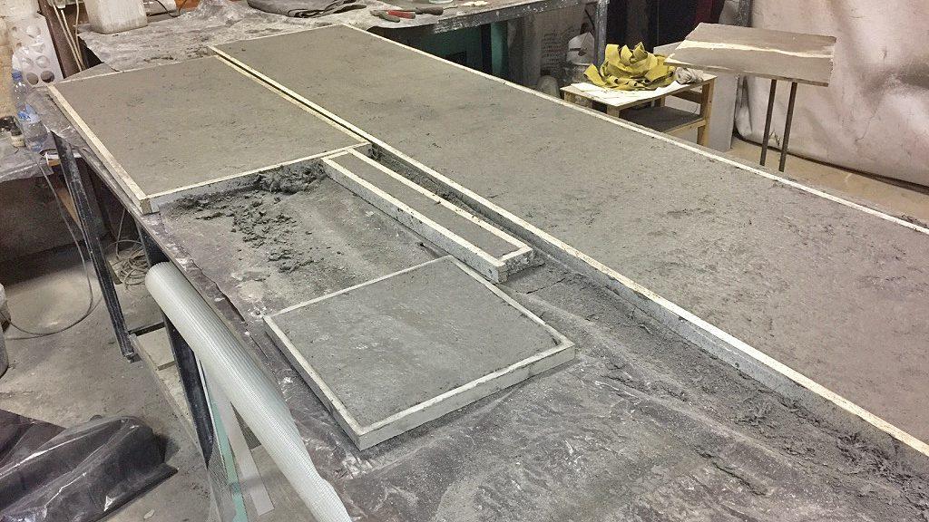 столешница из бетона своими руками