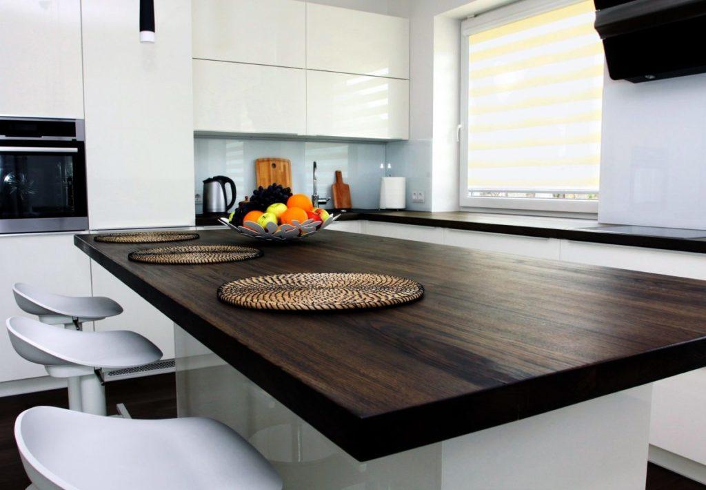 столешница на кухне фото