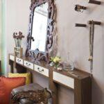 столик для макияжа с зеркалом идеи дизайн