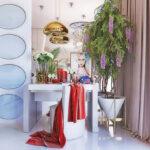 столик для макияжа с зеркалом идеи декора