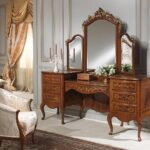 столик для макияжа с зеркалом идеи оформления