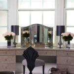 столик для макияжа с зеркалом идеи вариантов