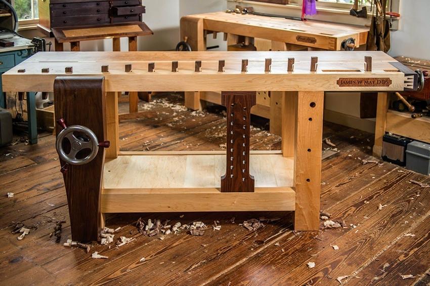 столярный стол дизайн фото