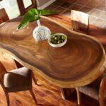 закругленный стол