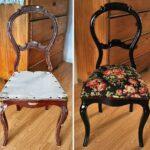 стулья после реставрации оформление