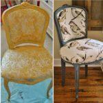 стулья после реставрации идеи декора