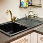 стык кухонной столешницы дизайн идеи