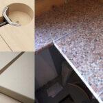 стык кухонной столешницы отделка