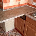 стык кухонной столешницы фото идеи