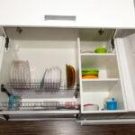 сушилка для кухонного шкафа декор фото