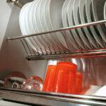 сушилка для кухонного шкафа оформление идеи