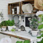 сушилка для посуды фото интерьер