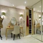 столик для макияжа с зеркалом дизайн идеи