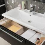 тумба с раковиной для ванной идеи декора