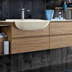 тумба с раковиной для ванной фото интерьера