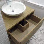 тумба с раковиной для ванной оформление идеи