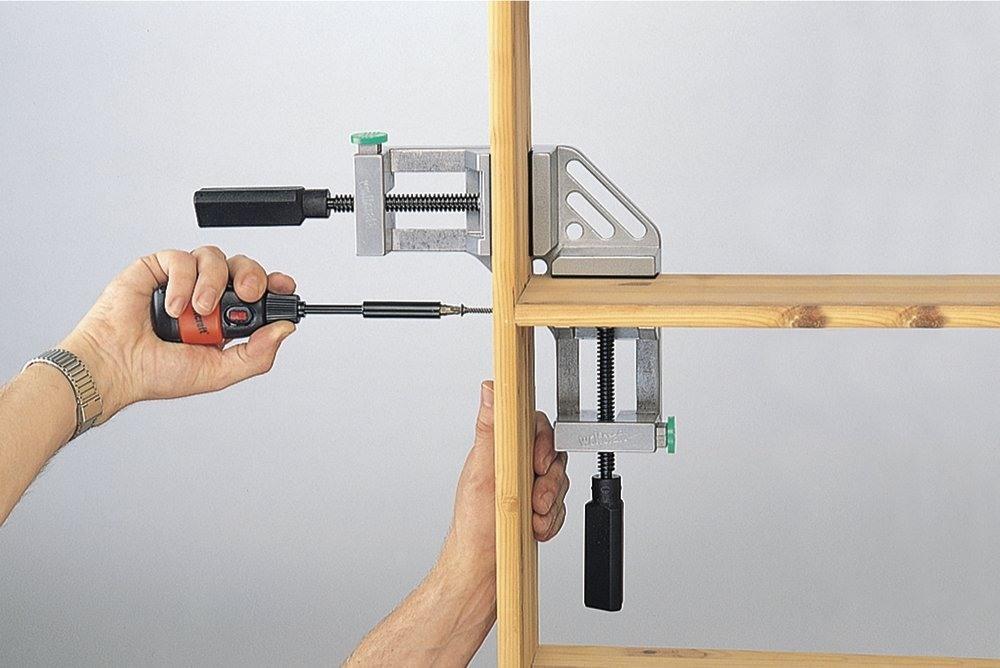 угловая струбцина для сборки мебели дизайн