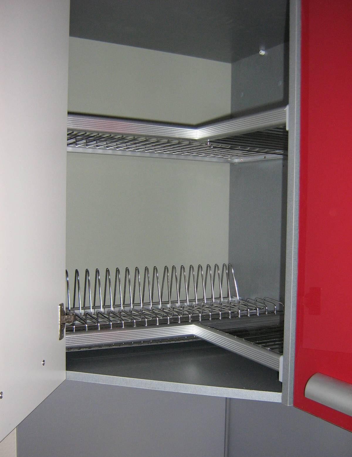 угловая сушилка для посуды дизайн фото