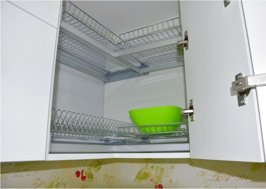 угловая сушилка для посуды идеи