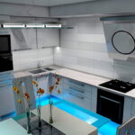 угловая тумба под мойку на кухню фото идеи
