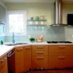 угловая тумба под мойку на кухню дизайн