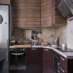 угловая тумба под мойку на кухню фото интерьера