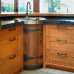 угловая тумба под мойку на кухню виды дизайна