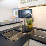 угловая тумба под мойку на кухню фото оформления
