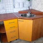 угловая тумба под мойку на кухню фото виды