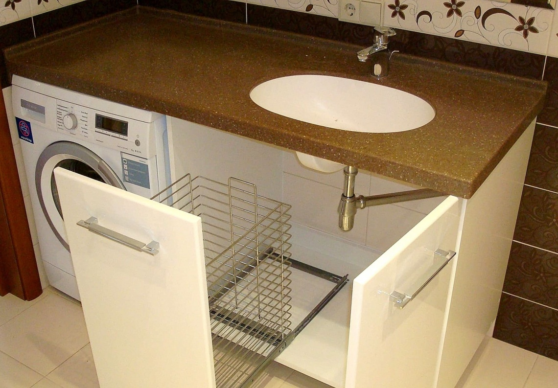 место для стиральной машинки