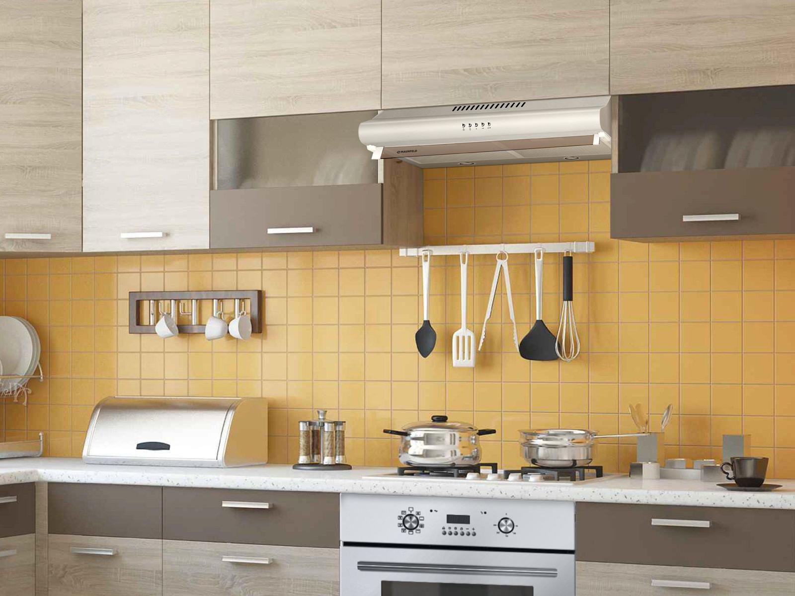 установка вытяжки на кухне идеи