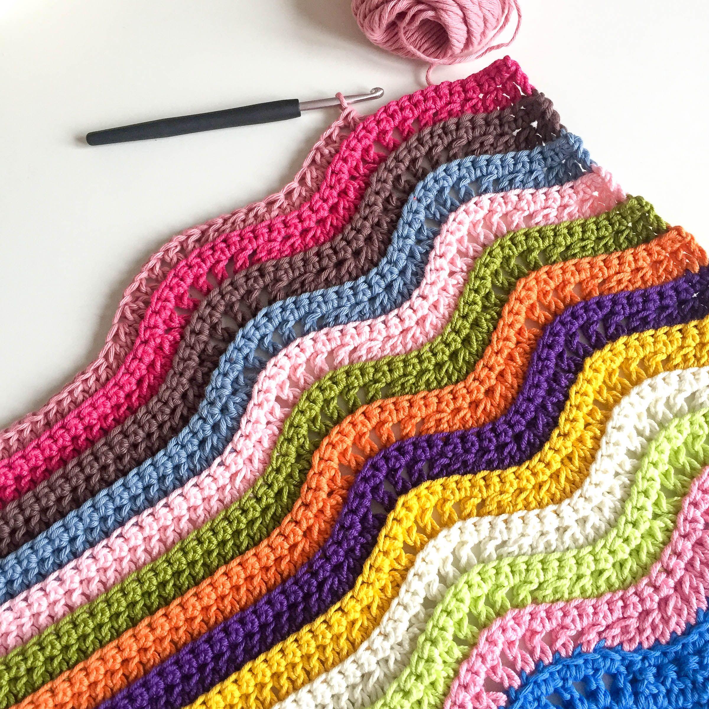 вязание пуфа крючком
