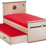 выдвижная кровать красная