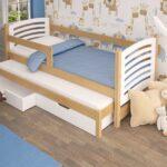 выдвижная кровать деревянная