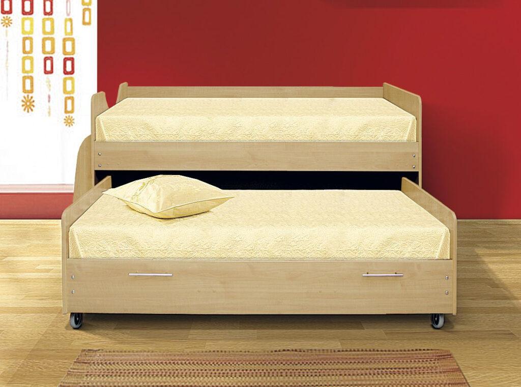 выдвижная кровать для ребенка