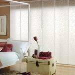 японские шторы белые