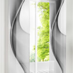 японские шторы со спиралью
