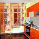 я на кухню соранжевыепонские шторы