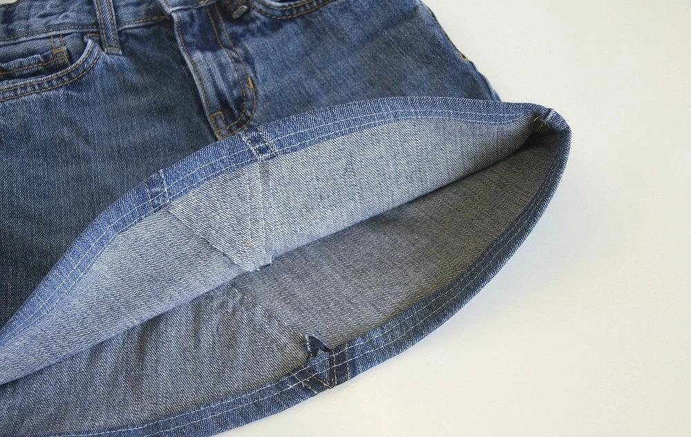 юбка из джинсов идеи фото