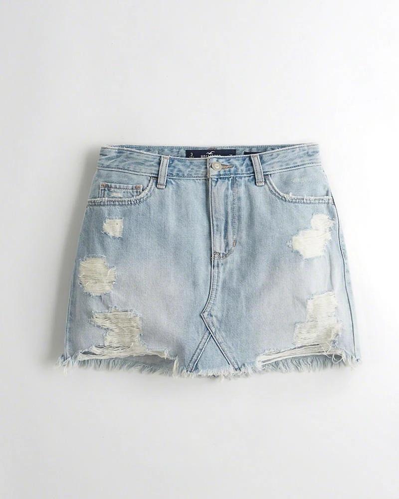 юбка из джинсов идеи