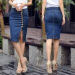 юбка из джинсов своими руками фото варианты