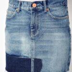 юбка из джинсов своими руками