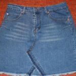 юбка из джинсов своими руками дизайн идеи