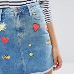 юбка из джинсов своими руками идеи дизайн